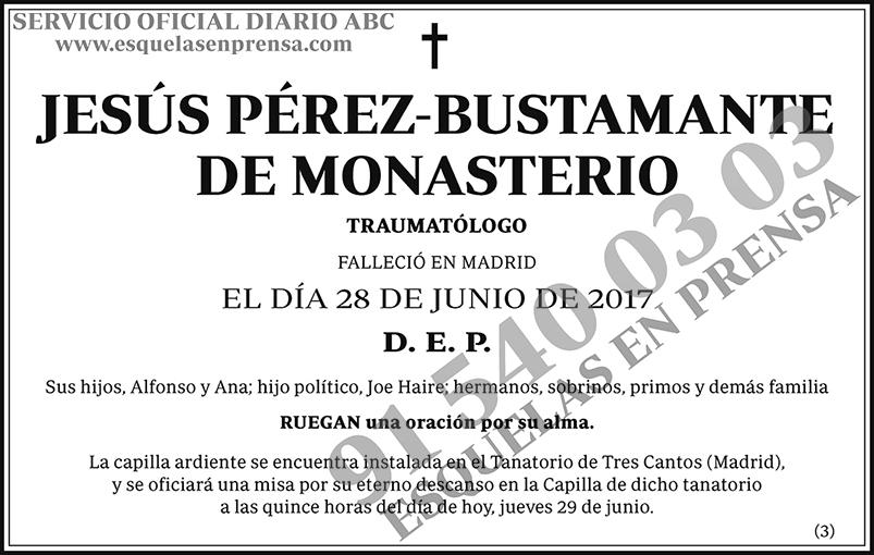 Jesús Pérez-Bustamante de Monasterio